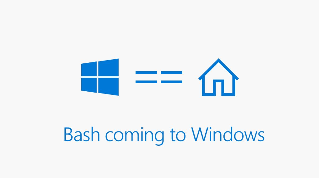 Windows 10 now has support for Bash and the universe of open source command line tools. #Build2016 https://t.co/5KeBeVg0wU