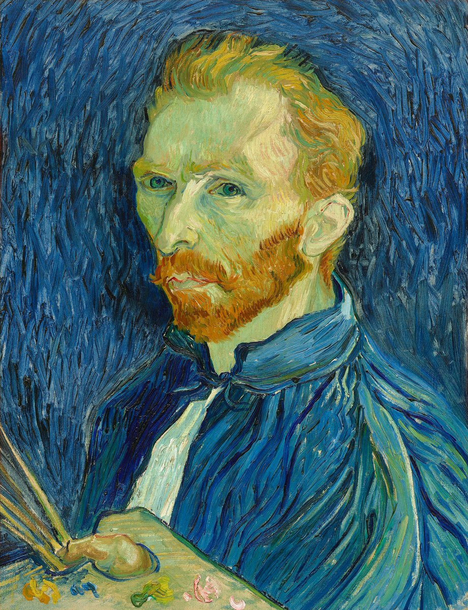 """""""There is nothing more truly artistic than to love people.""""   Happy birthday, Van Gogh.   https://t.co/0dkgL69jvZ https://t.co/SDvf5ZkFem"""