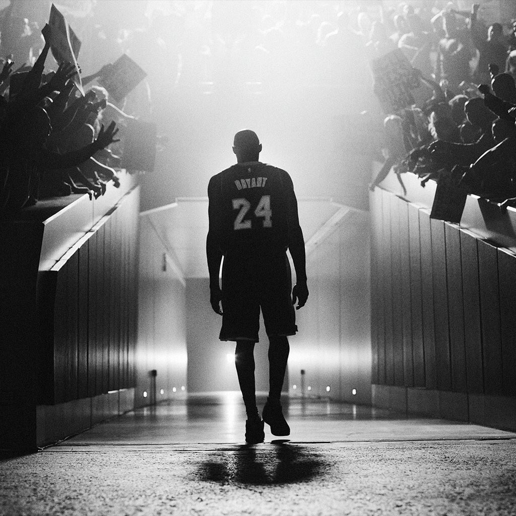 A @kobebryant. Forever on my mind even though you are retiring. A hero in my life, and a villain cause I'm crying. https://t.co/N3lIsQ13IN