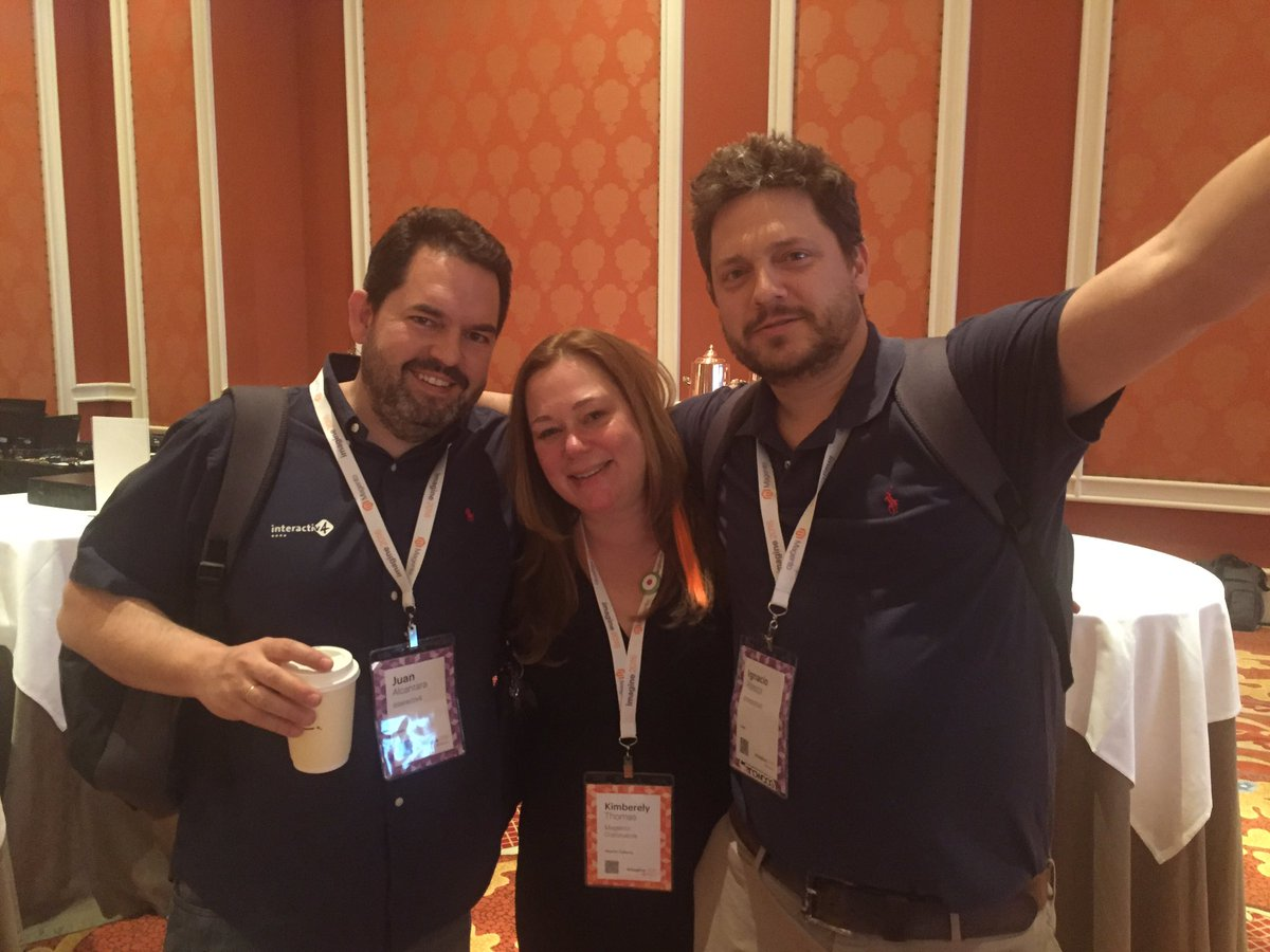 ignacioriesco: Adiós amigos!!! Thanks @magento for such a wonderful #MagentoImagine. See you next year. #wearemagento https://t.co/R6AZF9ZJla