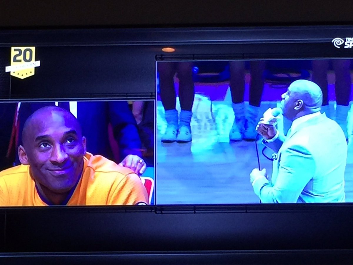 BobSchwartz: You think @MagicJohnson will mention @magento in his @kobebryant farewell ? #MagentoImagine https://t.co/BEXwM1yMFk