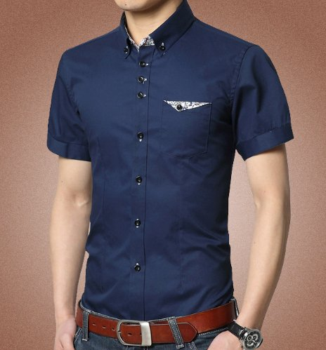 Men's short Sleeve Shirt. Comes in Navy, Sky Blue --> https://t.co/DXPtTXF8rl #shopping #shirts https://t.co/ZtCSORyc7N