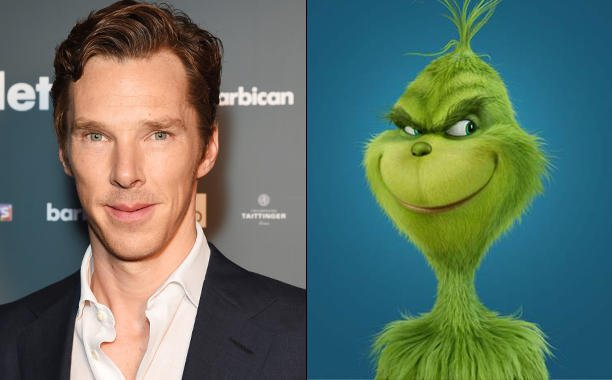 Benedict Cumberbatch is going 'The Grinch':