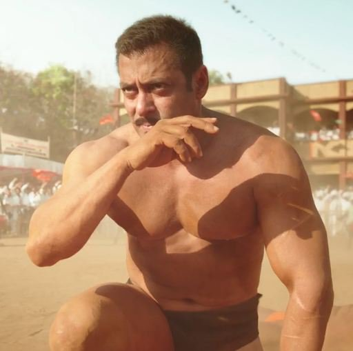 Boss bahot mehnat ki hai from diet to workout, Records to banenge but want national award for him #SultanTeaser https://t.co/Znjm0Lxnef