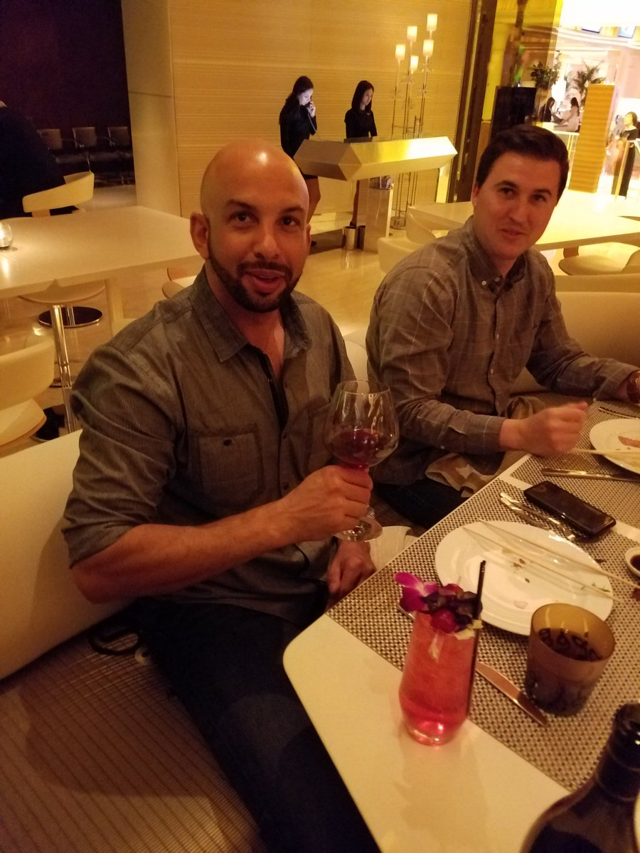 crimsonagility: Out for Shirley Temples with the @websecpartner #MagentoImagine #bigboydrink https://t.co/NFFmRL86XW