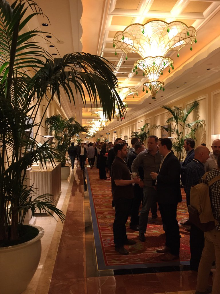 drlrdsen: Quite a queue at @dotmailer's party at #MagentoImagine https://t.co/FHQXg2wv0K
