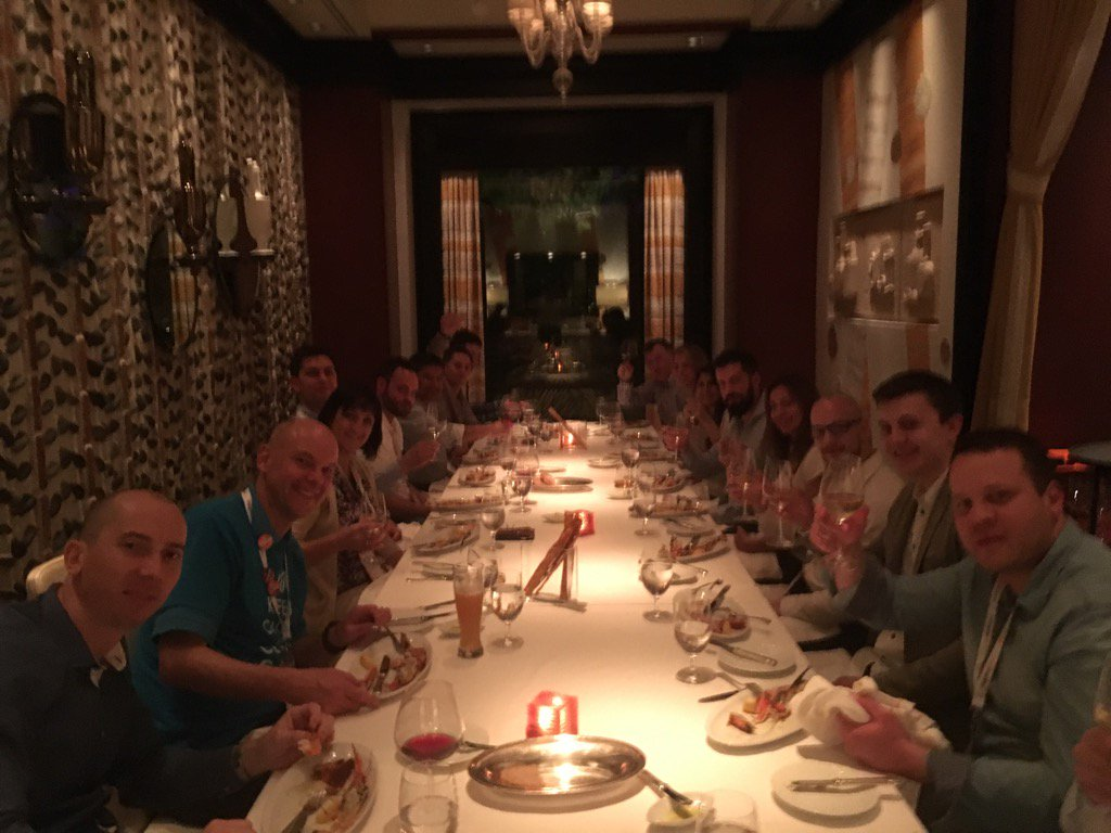 brentwpeterson: Magento Wagento Tiger team #MagentoImagine https://t.co/kvraMZ6oZI