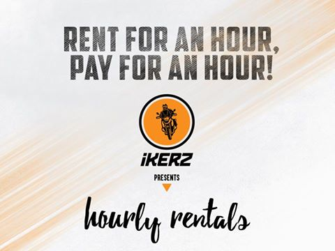 RT @ikerZ_rental: Why pay per day charges when you can rent for per hour? ikerZ presents hourly bike rentals #ikerZHourlyRental #ikerZ https://t.co/O5rurtG6WT
