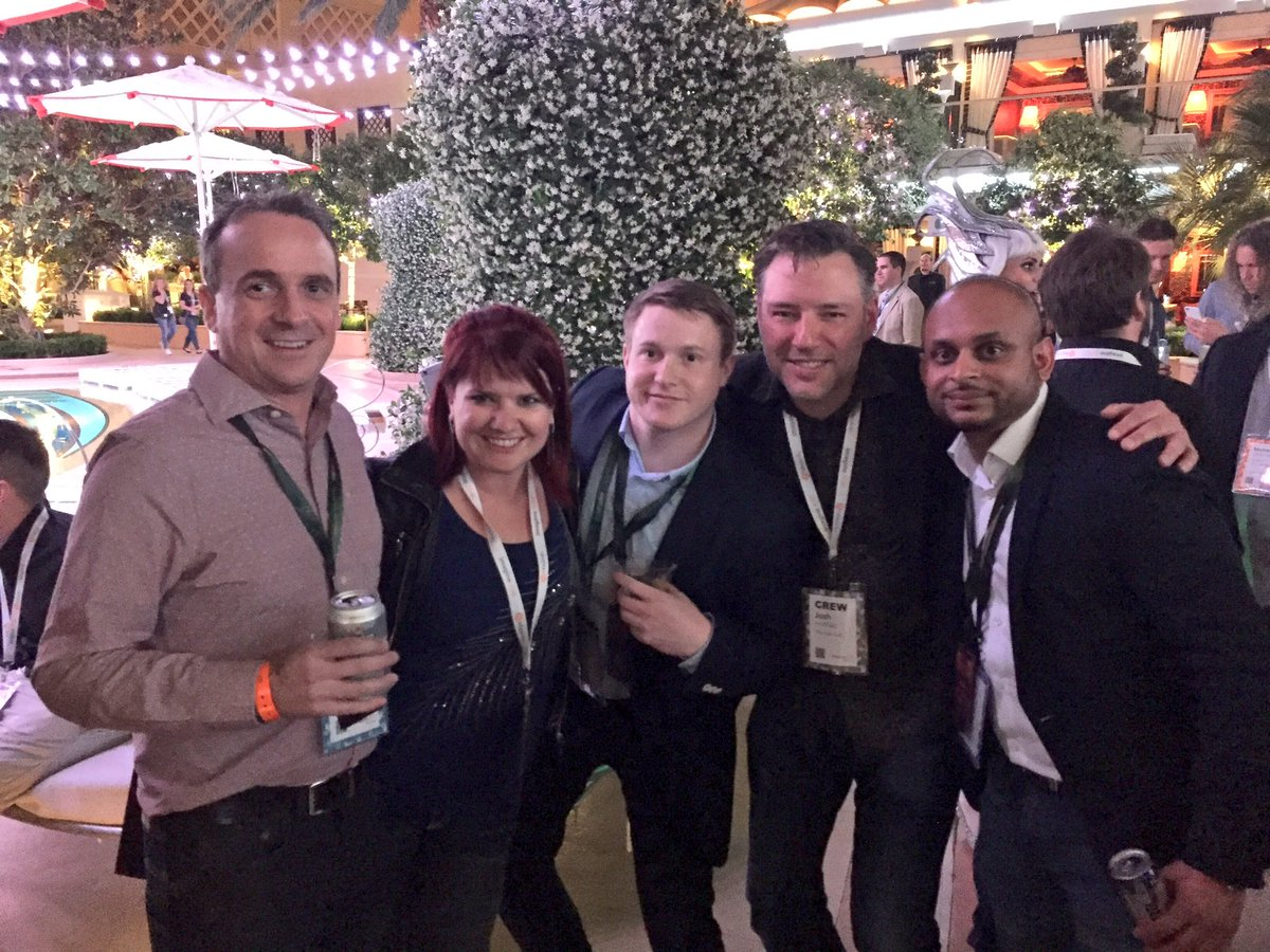 sherrierohde: Hanging out with the @thebuzzlab + @dotmailer at XS! #MagentoImagine https://t.co/Clwh0WrO7Y