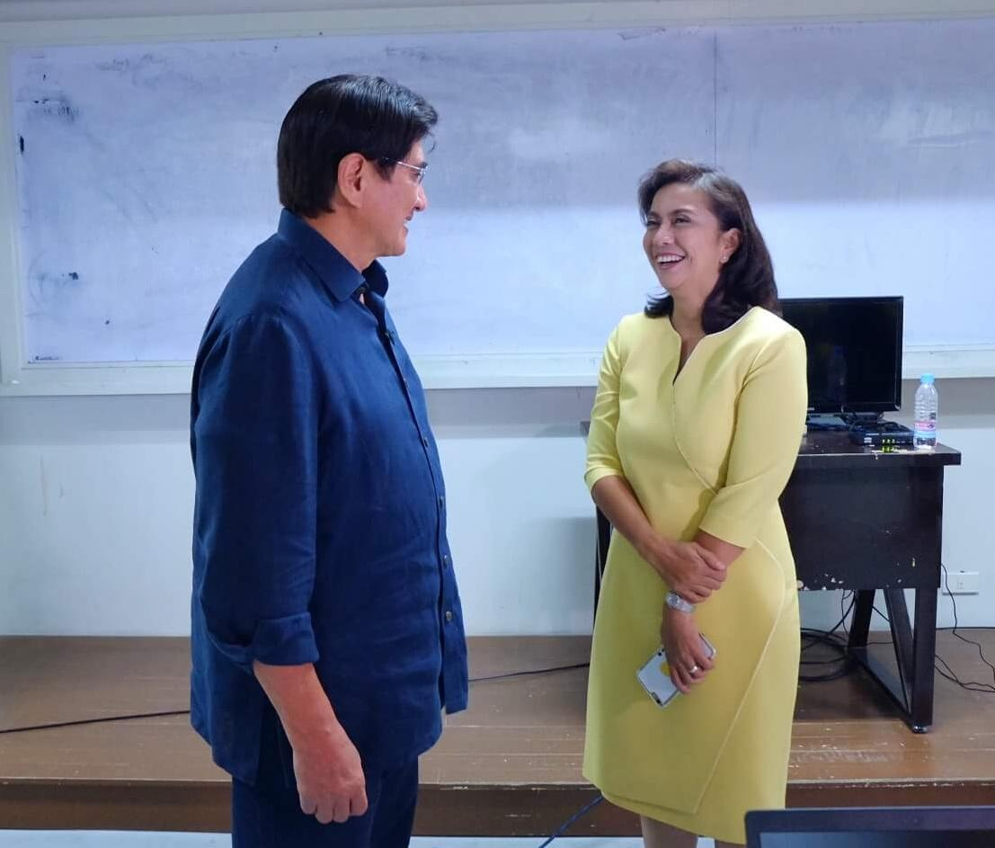 Nothing prevents good manners and right conduct from transcending politics and elections. @lenirobredo https://t.co/Pew1J4SK79