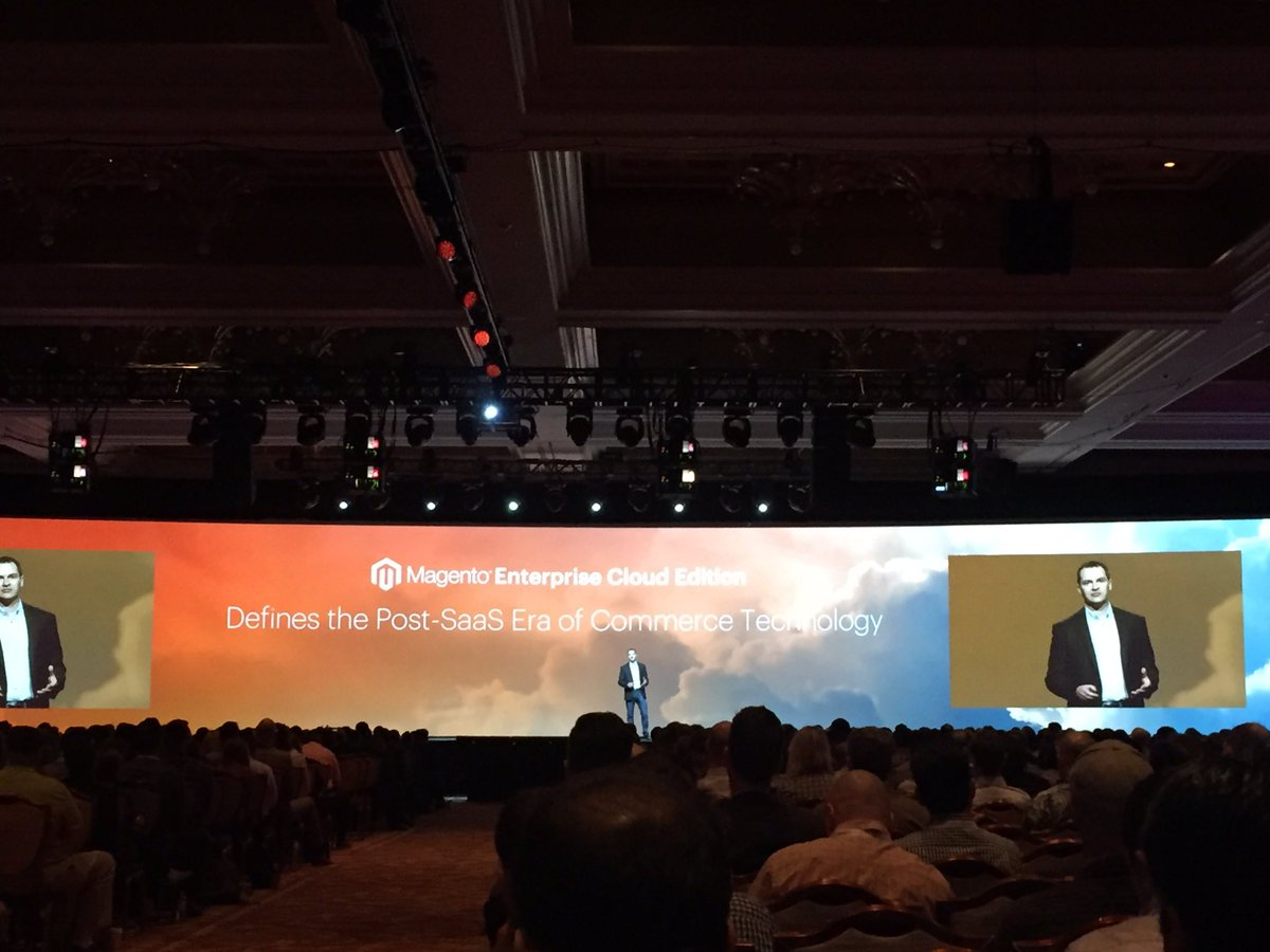 magento_rich: .@magento Cloud should be available around May 1. #MagentoImagine #ECE https://t.co/OtftFyGD53