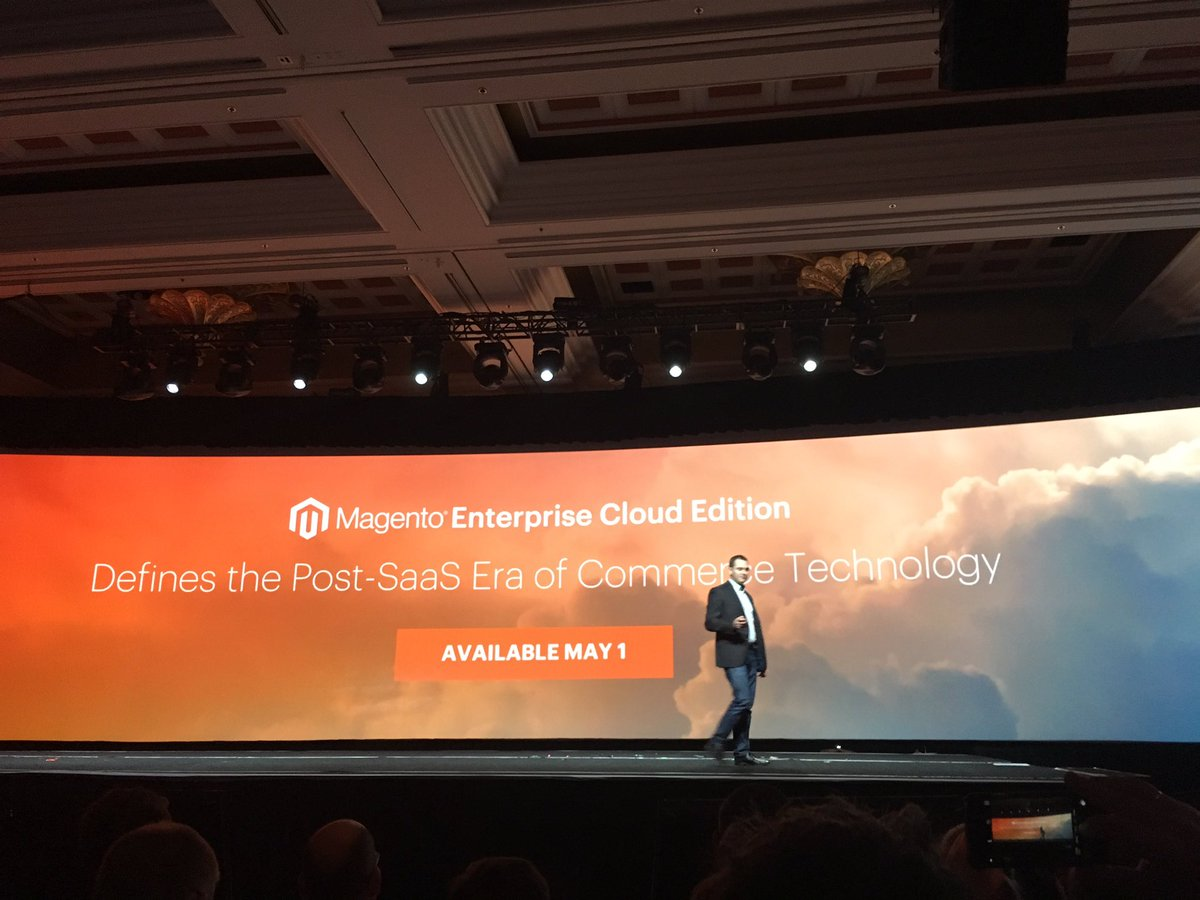 mediawave_trend: Available on May 1th - Magento Enterprise Cloud Edition #MagentoImagine https://t.co/HHEv5Krm8E