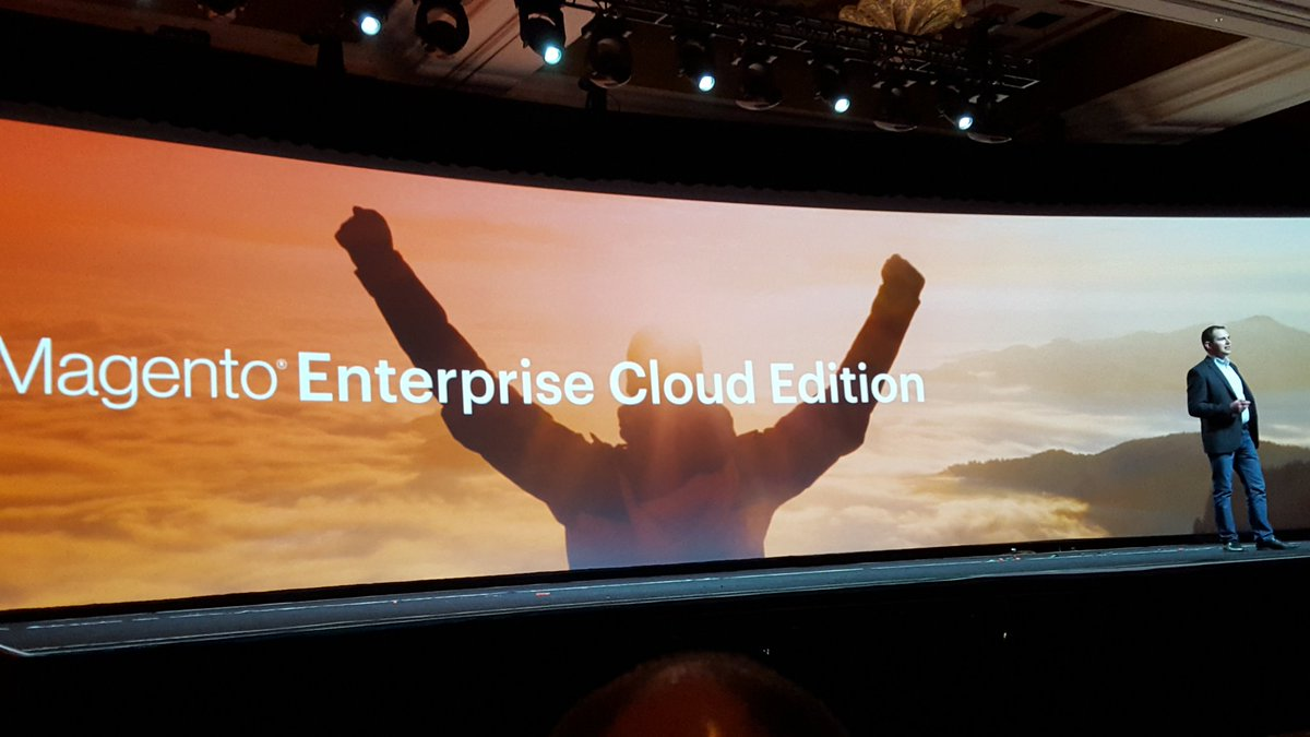 BrendanWitcher: Watching @peter_sheldon discuss Magento's  new Enterprise Cloud Edition #MagentoImagine https://t.co/HmoEQqJcsQ