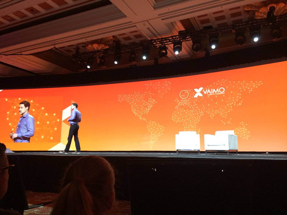 bennolippert: Shout out to @vaimoglobal grew from 3 people in 2008 to 250 in 2016.Great story and great success #MagentoImagine https://t.co/UmGybJnPbu