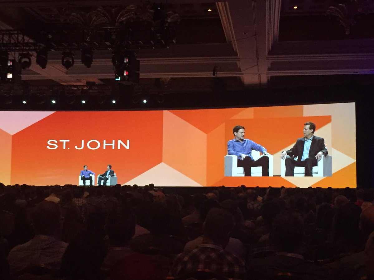 annhud: CIO of @StJohnKnits said they got their #ecommerce site up from scratch in 6 months on @Magento #wow #MagentoImagine https://t.co/FdJAE7wkUt
