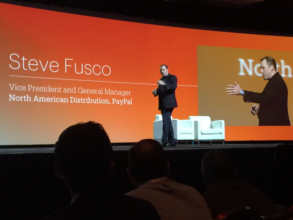 alexanderpeh: Every single person is here with a purpose! @fusco_stephen VP @PayPal n#MagentoImagine @PayPal4Business https://t.co/vxVryyrbdu