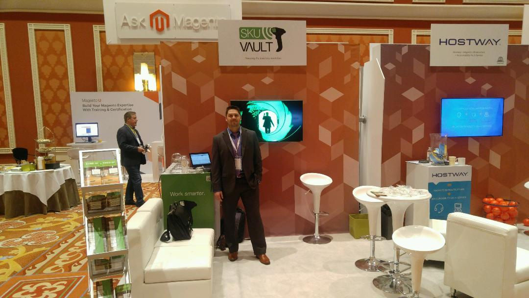 skuvault: Ready for day two of #MagentoImagine! Come visit us at booth 215 - we've got the good swag ;) https://t.co/wTTTHYfWWM