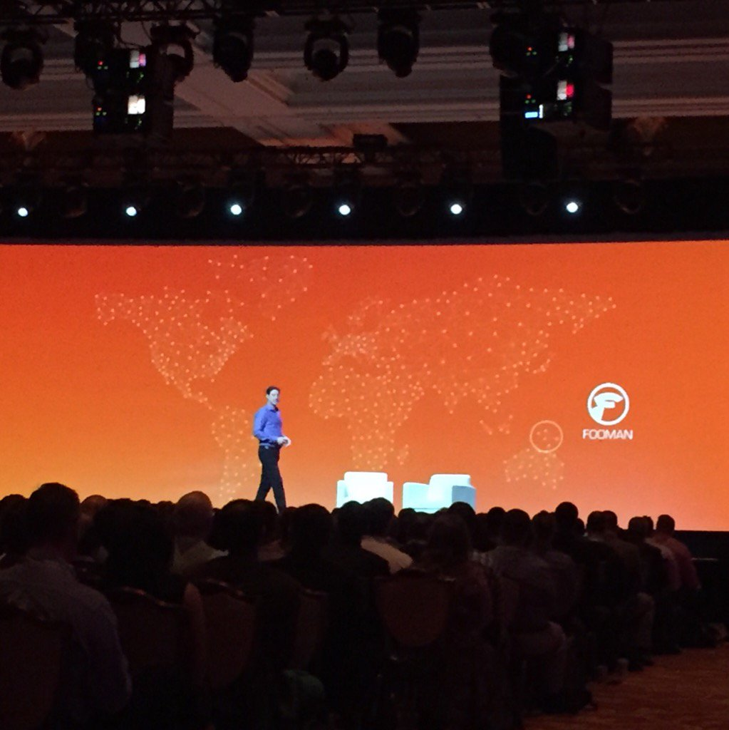 ericerway: Nice callout for @foomanNZ this morning and their story doing great work for the community. #MagentoImagine https://t.co/LmucYISap6