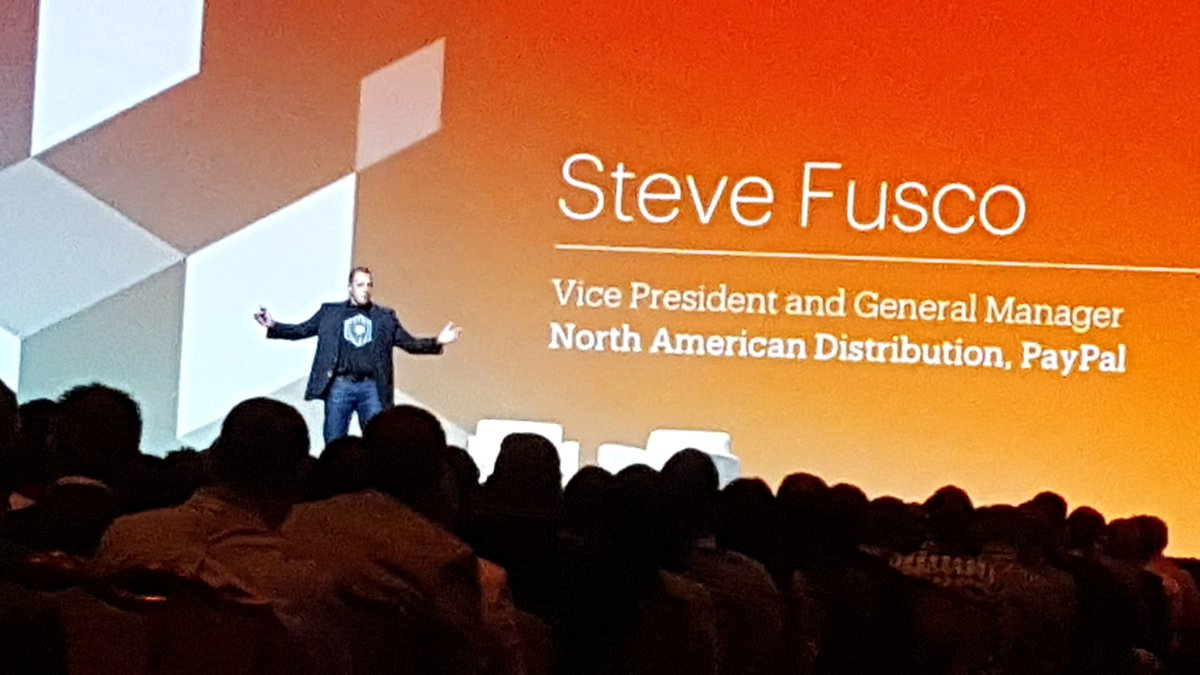 betz826: There's a rewiring of commerce, we have the opportunity to reimagine what  money is #MagentoImagine https://t.co/CwQcC1FWxc