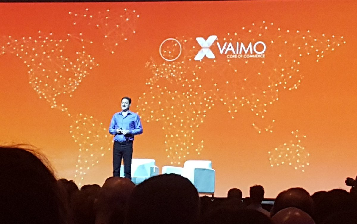 onestepcheckout: Shout out to our Viking fellows @vaimoglobal !#scandinavia #MagentoImagine #keynote https://t.co/kFrd1SIUAY
