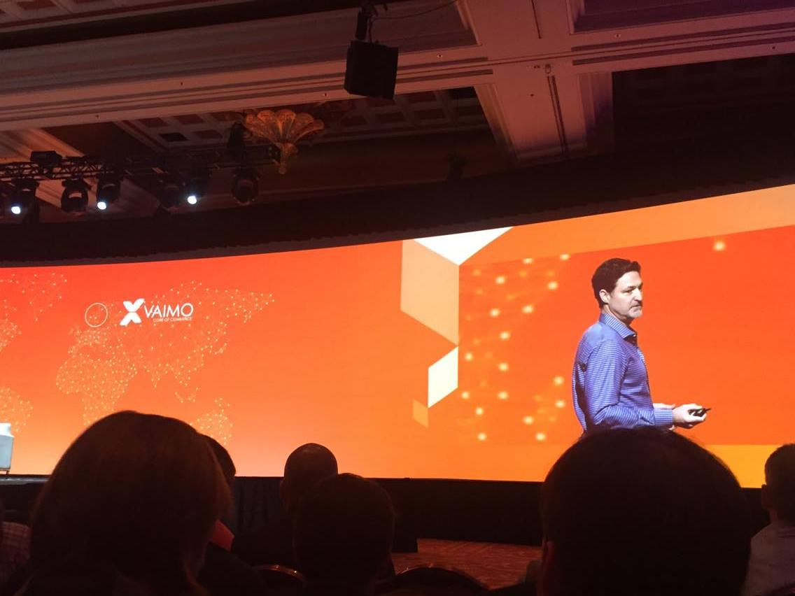 vaimoglobal: #Vaimo was the first out of only TWO solution providers mentioned by Mark Lavelle at #MagentoImagine #Imagine2016 https://t.co/CRDfMrMhwx