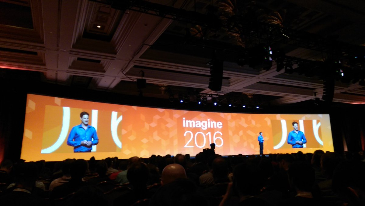 demacmedia: Ready for day two?! #mobile #eCommerce #MagentoImagine  #RealMagento https://t.co/tvUmAhb6bU