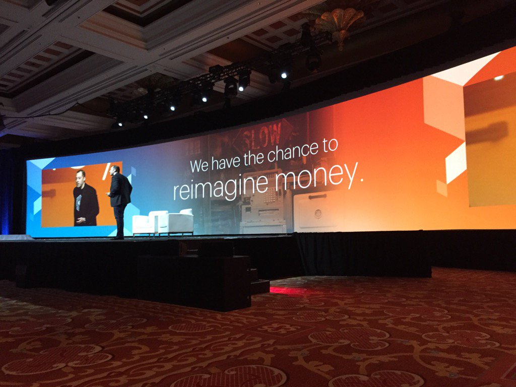 robertDouglass: PayPal at @magento Imagine: 'Cash is dying' #MagentoImagine https://t.co/wcEj0uvkGh