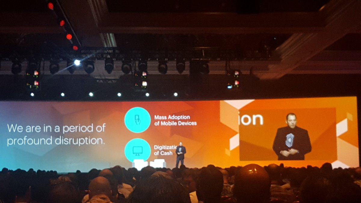 mgoldman713: 'We are in a period of profound disruption.' @fusco_stephen #MagentoImagine https://t.co/iVvRybHS3o