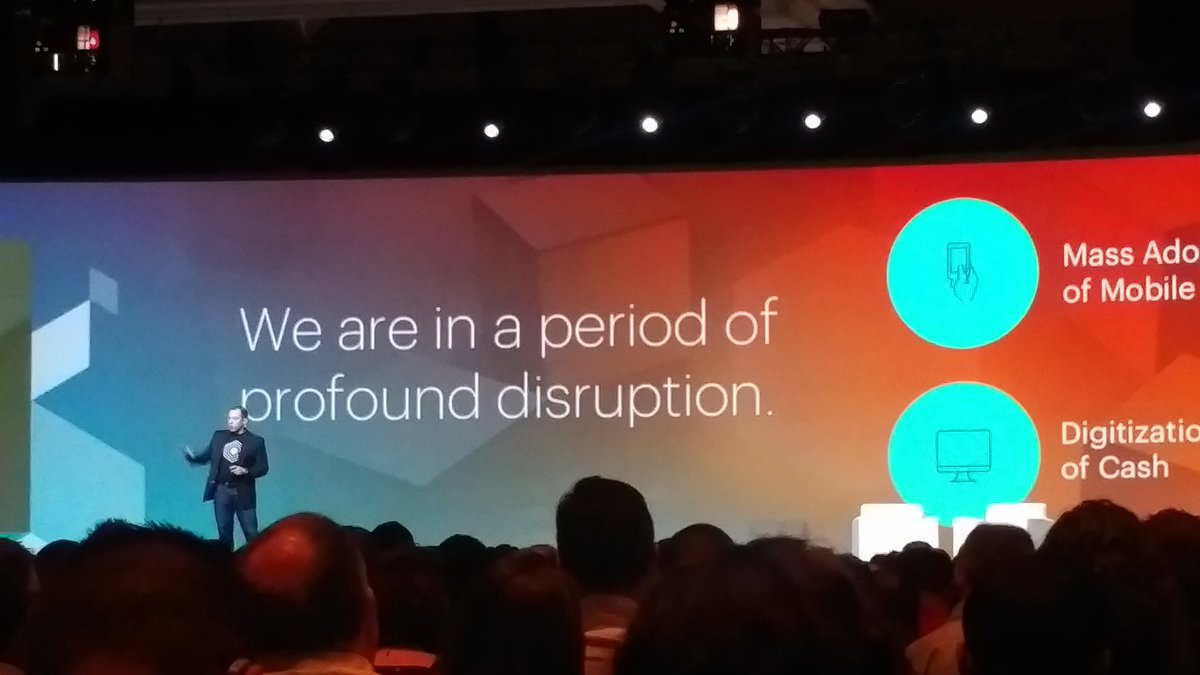 KeyoraInc: PayPal believes less than 50% of purchases will be with cash in less than two years.  #MagentoImagine https://t.co/X8RJhmYkQk