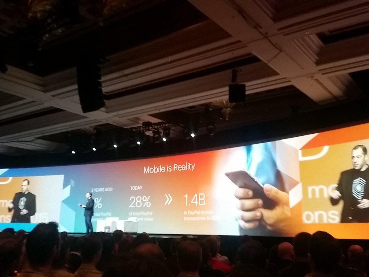helenelefebvre: mobile is reality, for those who have not noticed :) #MagentoImagine https://t.co/kiG2H0YKBV