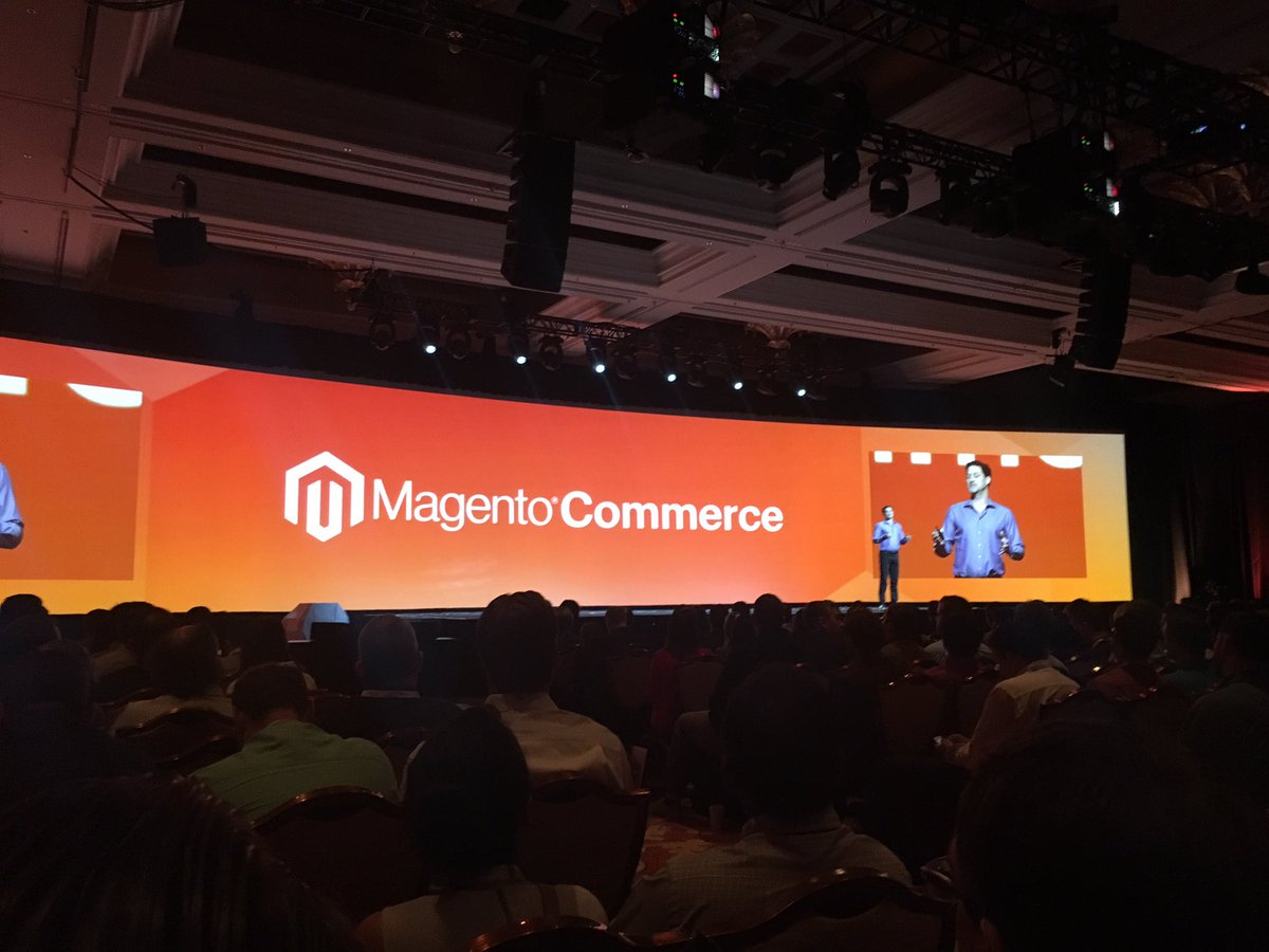 emjean: Kicking off the morning with music and Mark Lavelle's keynote #MagentoImagine #LasVegas https://t.co/NlEqy95emK