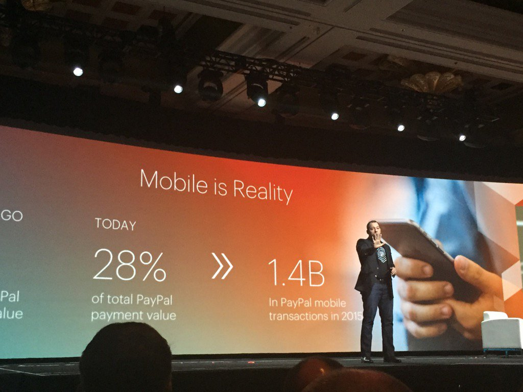jasonpaypal: The mobile payment reality is here!@PayPal4Business #MagentoImagine @braintree @PayPal https://t.co/PZxz81apZl