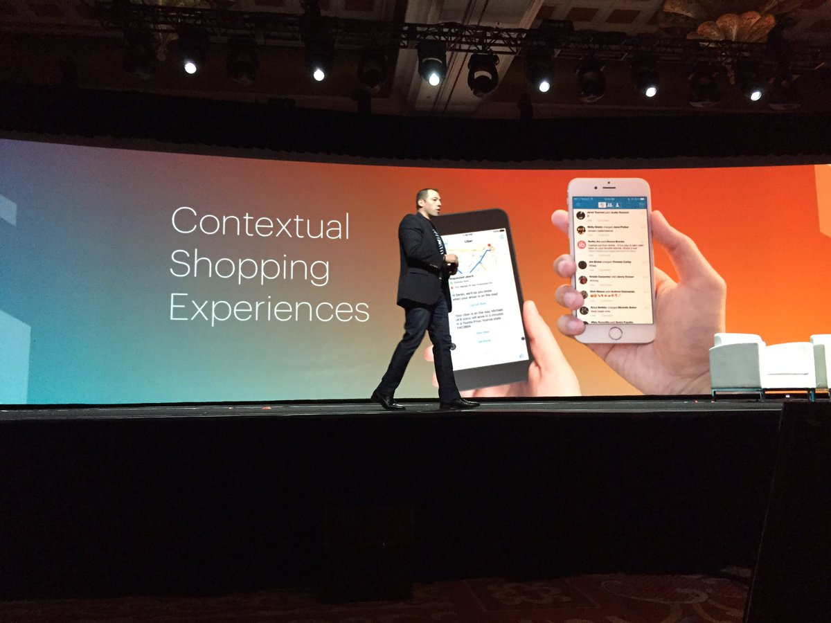 ProductPaul: Contextual shopping experiences. Believe 'dat #MagentoImagine https://t.co/q5kVclTLs8