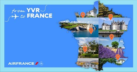 Want to win a free trip for to France? Then enter @AirFranceCA's 1yr anniversary contest.