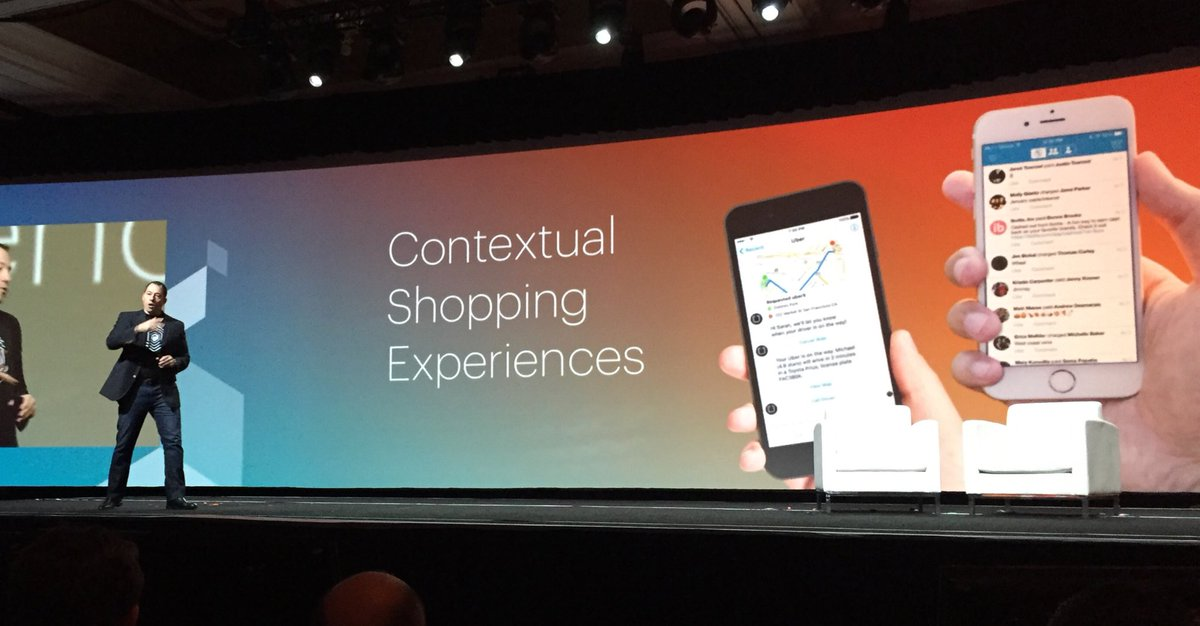ignacioriesco: Contextual shopping experiences. #MagentoImagine be there when your clients needs you. https://t.co/NrdMopndtd