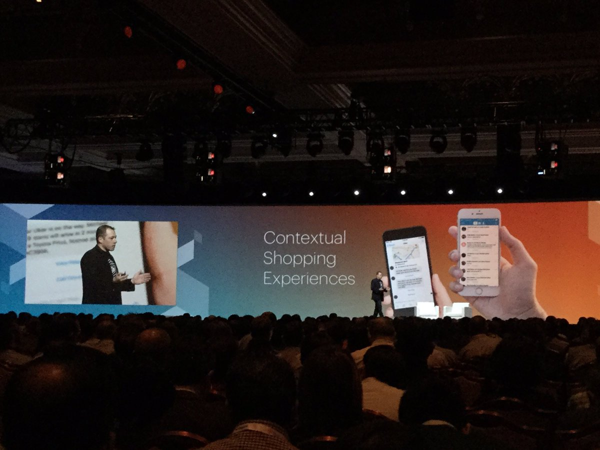 tomik99: Future is to remove payments from the process #ux by @PayPal at #MagentoImagine https://t.co/QPrqgmLQnL