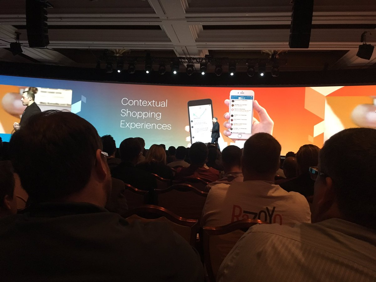kristinemcnerdy: 'Instead of bringing the customers to you, you need to go to your customers.' @fusco_stephen @PayPal #MagentoImagine https://t.co/gbSZkYDd8k
