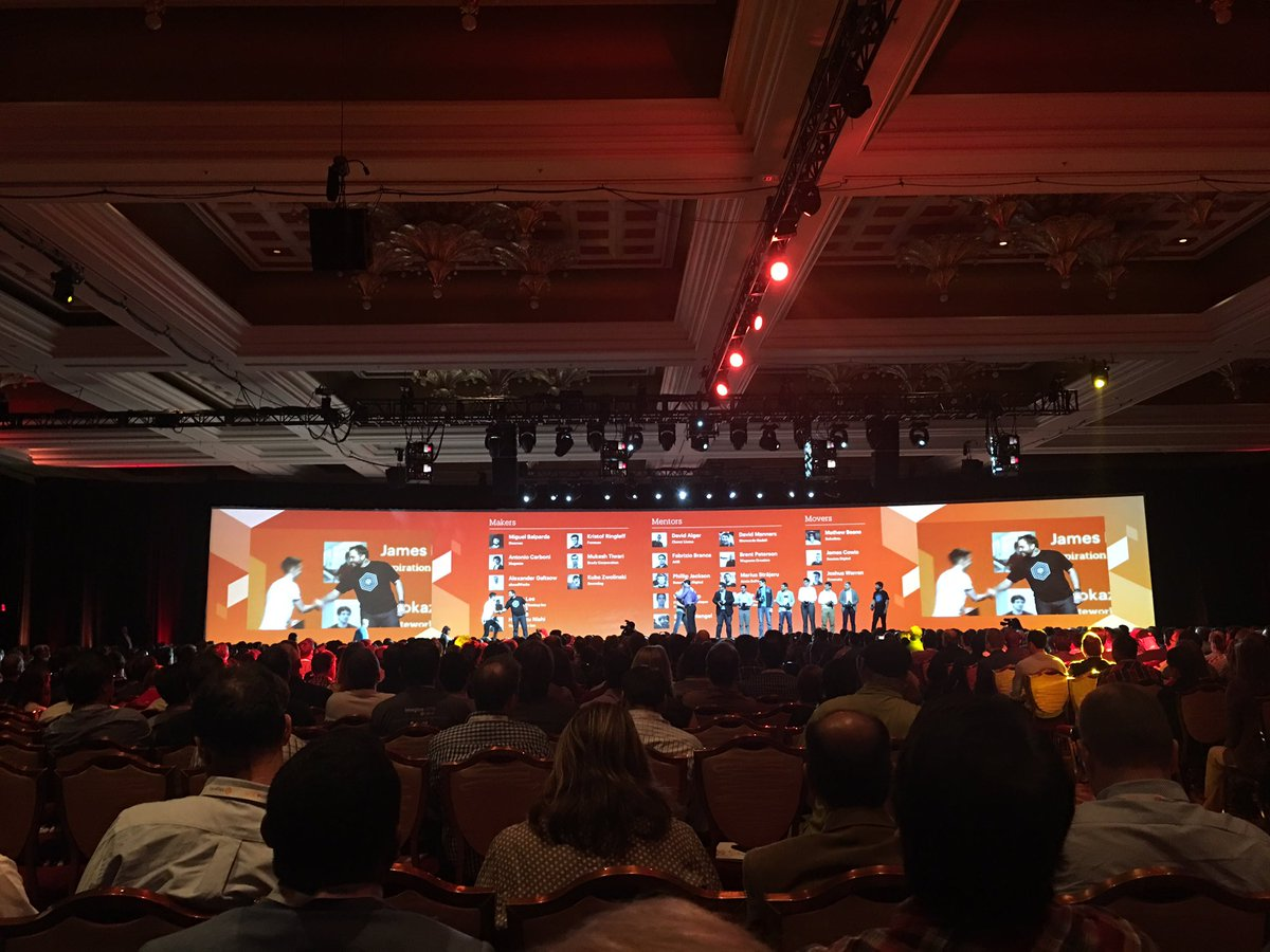 ebizmarts: What a duo @benmarks & @sherrierohde recognizing the hard work of the #MagentoImagine community, well done @magento! https://t.co/4FROrHDGCl