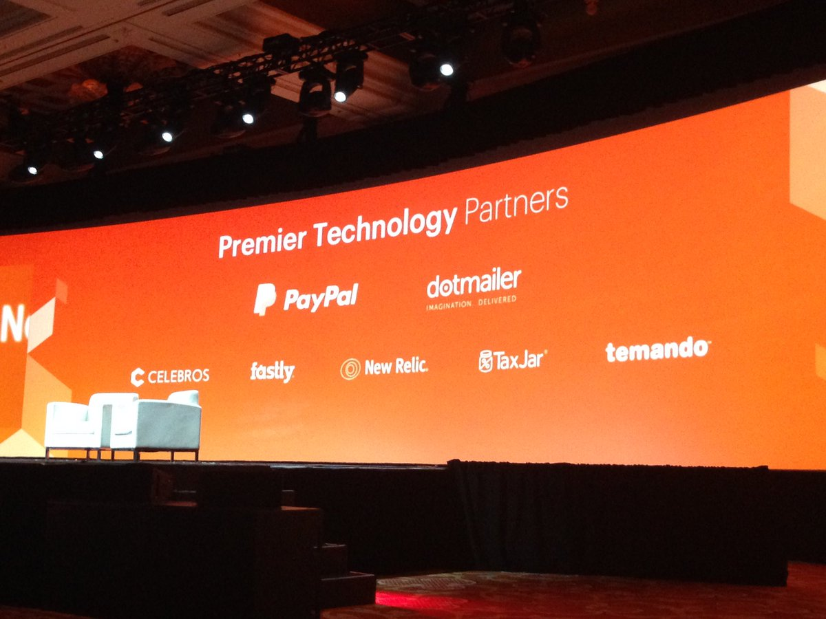 SheroDesigns: Premier Technology Partners #magentoimagine @magento @dotmailer @PayPal @TaxJar @newrelic https://t.co/L9BynnLEFO