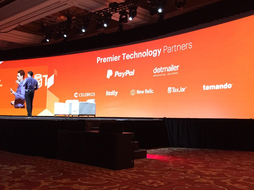 robertDouglass: New premiere technology partners for @magento: congrats @fastly et al! #MagentoImagine https://t.co/zbMIy8jTL8