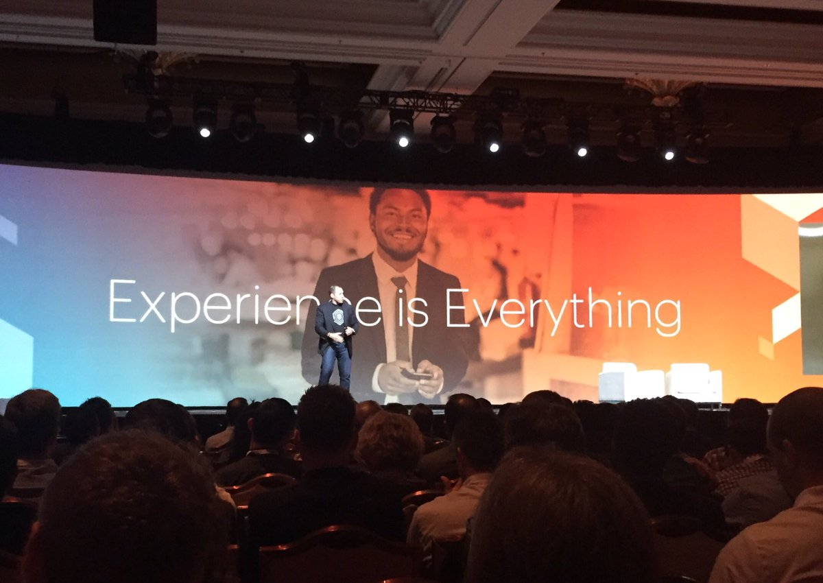 jcrickmer: Great talk from @PayPal North American GM - 'Experience is everything.' #MagentoImagine https://t.co/zcbMJOBlhW