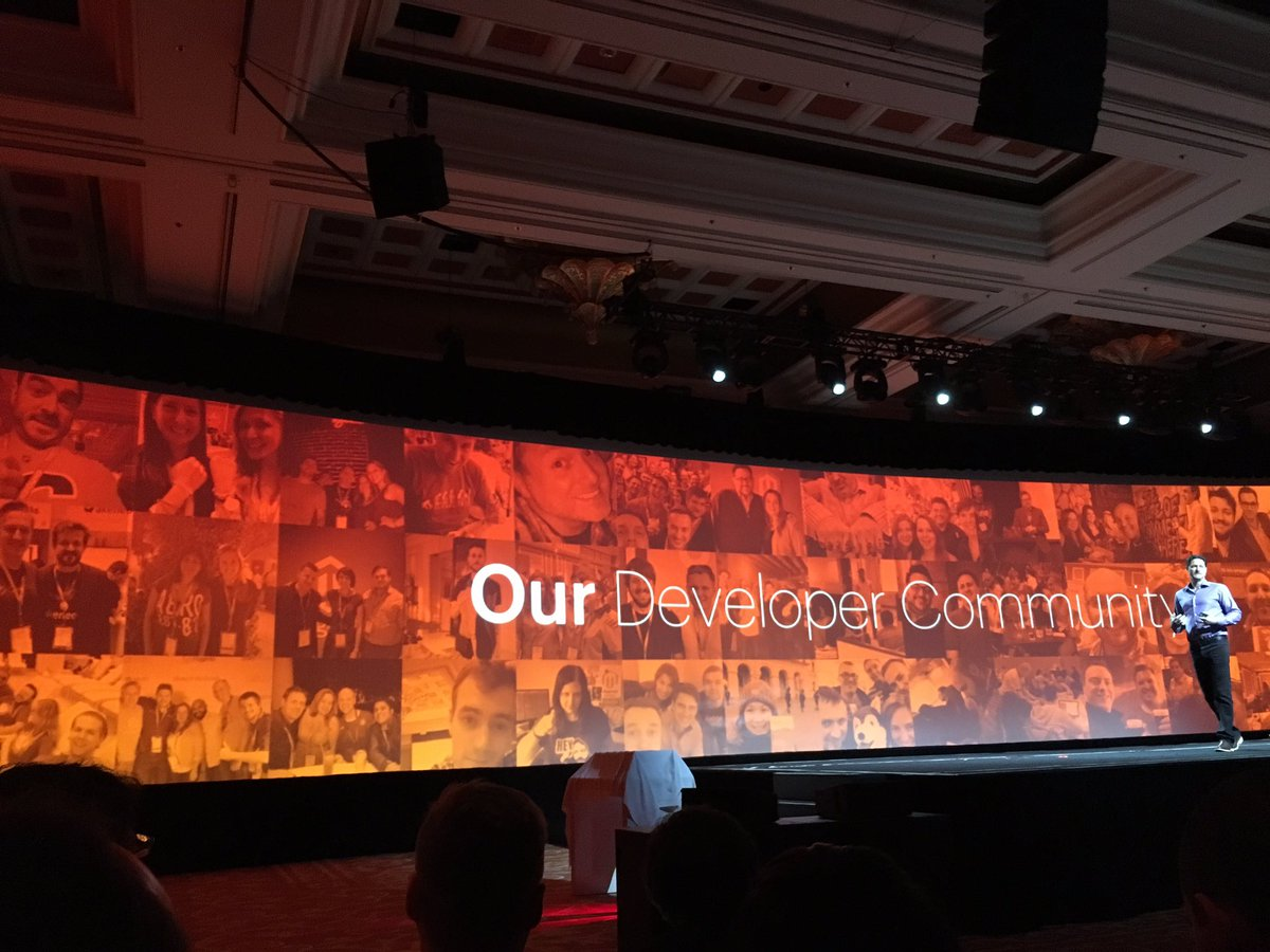 magentogirl: And finally the ecosystem tour - Our developer Community! #MagentoImagine https://t.co/qxAuv99rTD