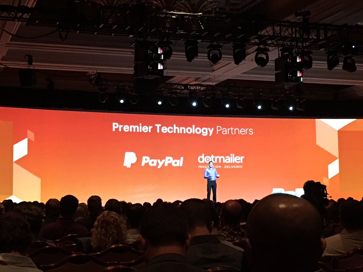 briggsbrandon: 'Our original @magento Premier Partners.' @dotmailer @PayPal #MagentoImagine https://t.co/AVUu7tpc5a