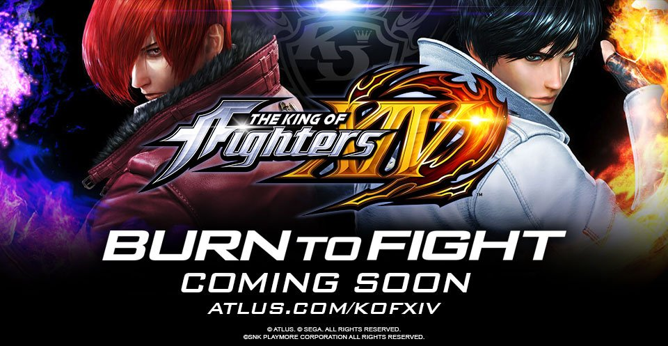 Burn to fight! Atlus USA has teamed up with SNK Playmore to bring The King of Fighters XIV stateside! https://t.co/eFIKfnu3PE