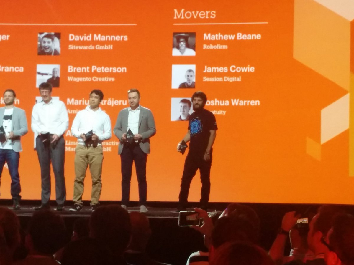adwatson: Congrats @mbalparda and all the other Magento Masters!! #MagentoImagine https://t.co/otIaueGFSp