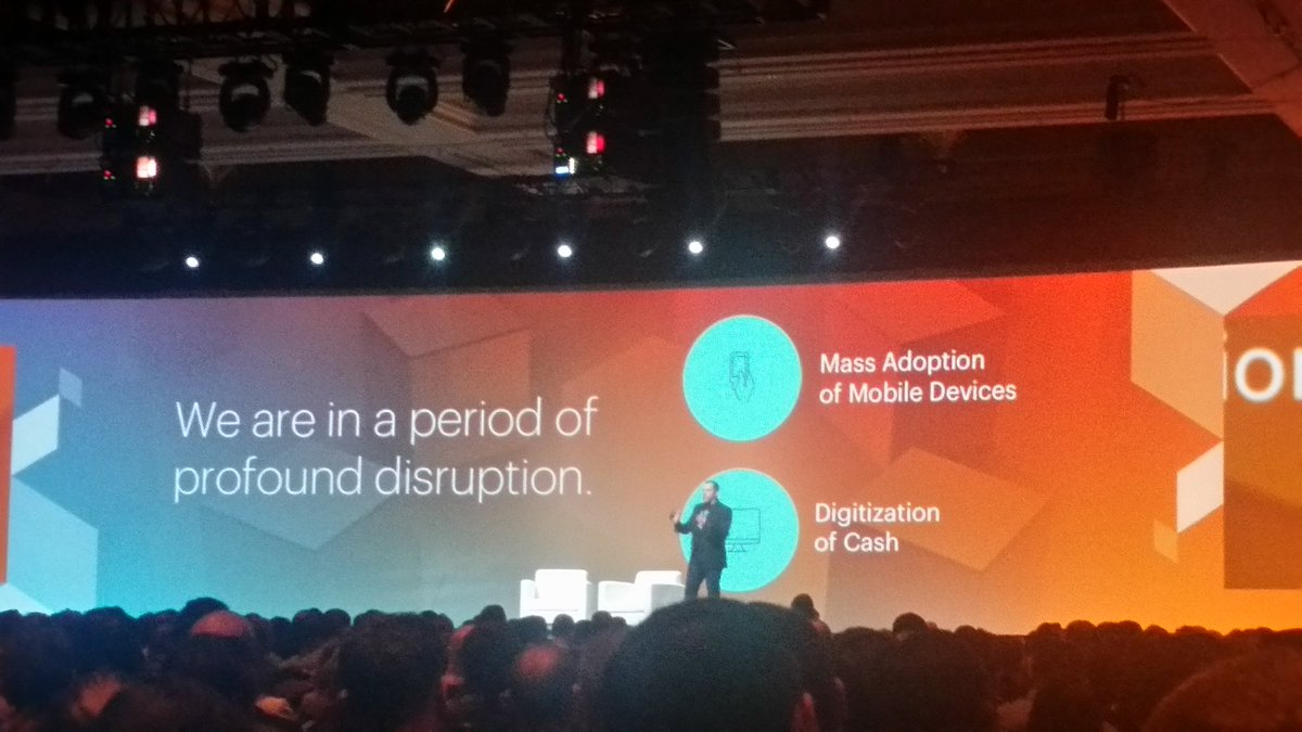 Tryzens: 'We are in a period of profound disruption' with @fusco_stephen  of @PayPal4Business #MagentoImagine https://t.co/xf14cecD7c