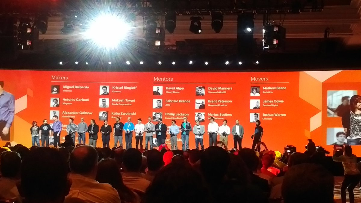 KeyoraInc: Magento Masters announced at #MagentoImagine https://t.co/c1Mhj7G41N