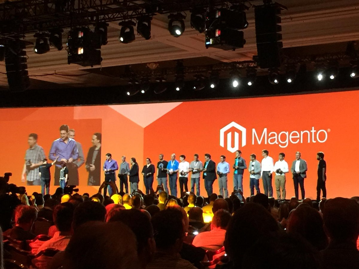 art_boyd: Magento Masters.  #MagentoImagine https://t.co/b2hnCwWdOc