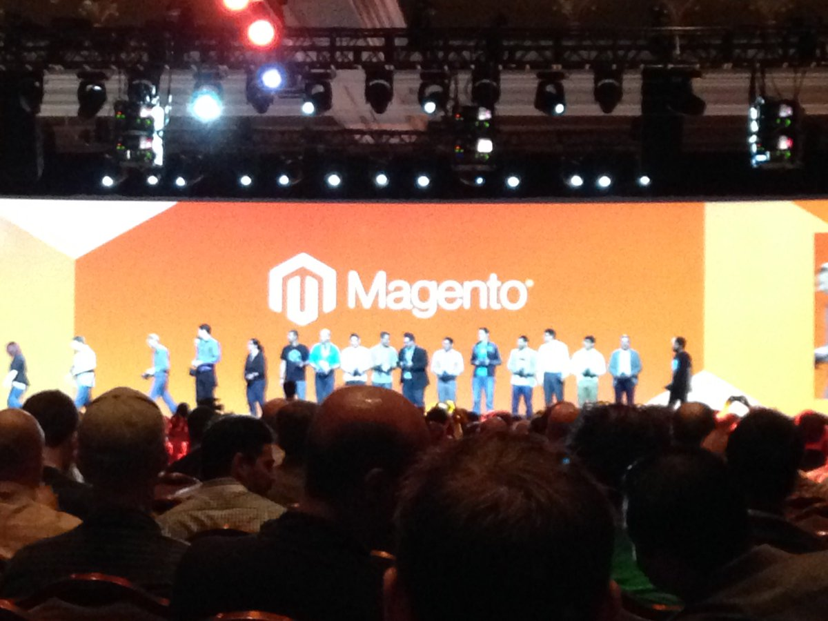 SheroDesigns: Thank you #magentomasters for inspiring & teaching all of us in the @magento community #MagentoImagine https://t.co/rYuxADqKTm
