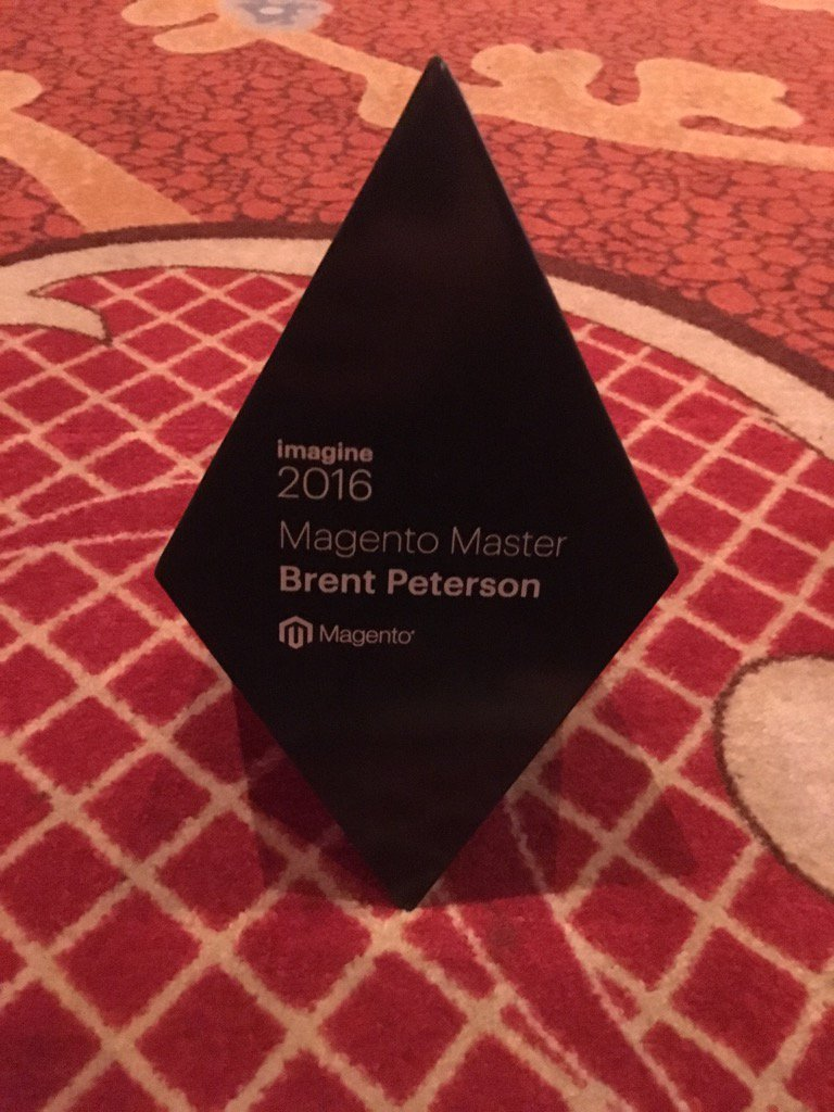 brentwpeterson: Thank you #MagentoImagine https://t.co/IibXMjhwCi